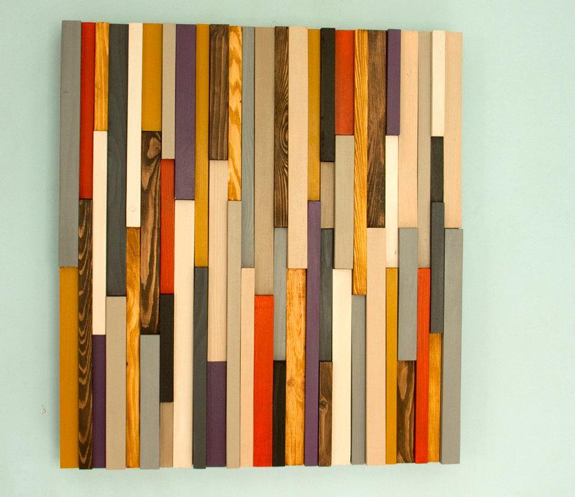 Custom Wood wall art sculpture – Deposit – Art Glamour