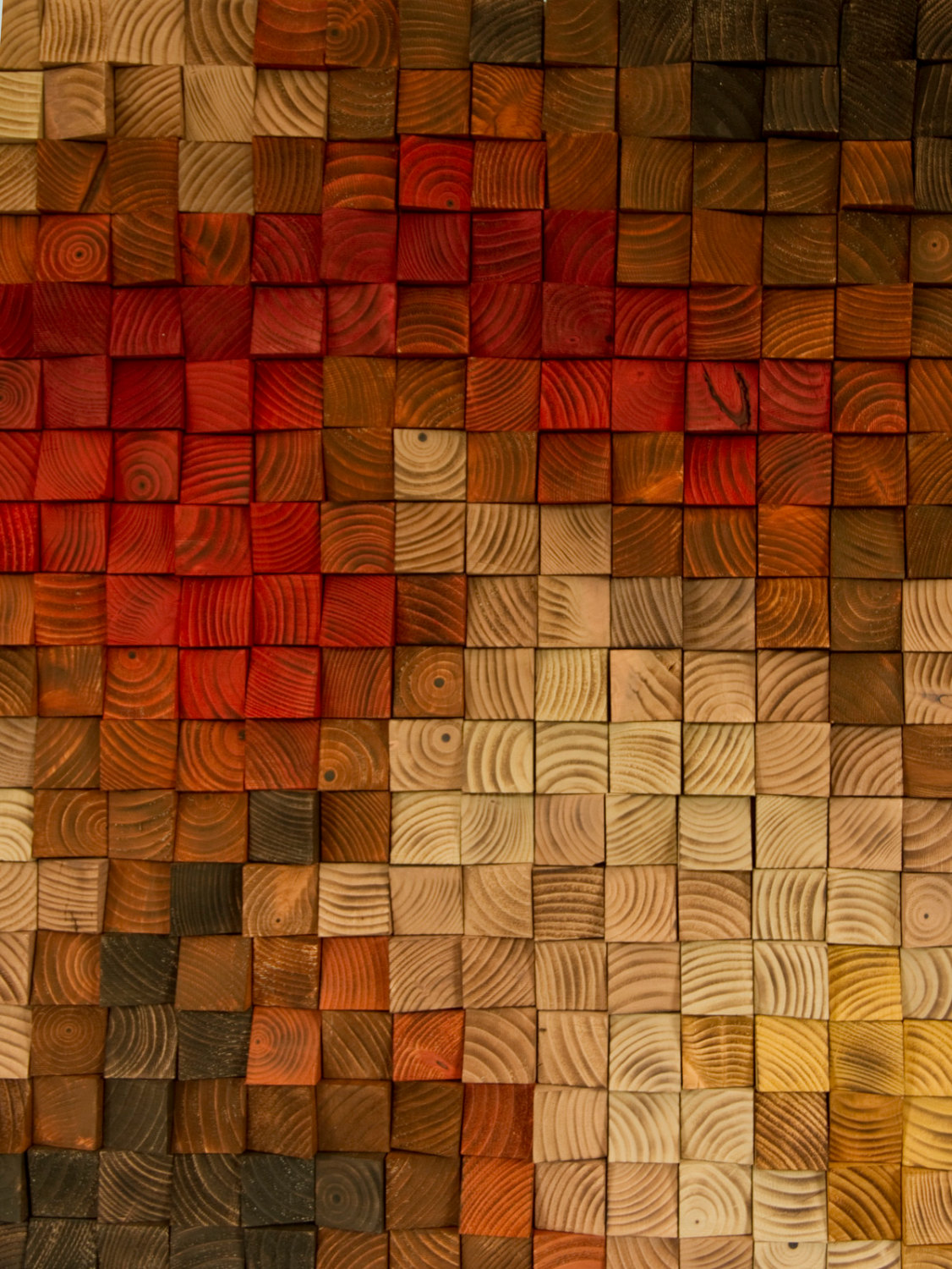 Large rustic wood wall art wood wall sculpture abstract painting on wood art glamour - Wall arts images ...