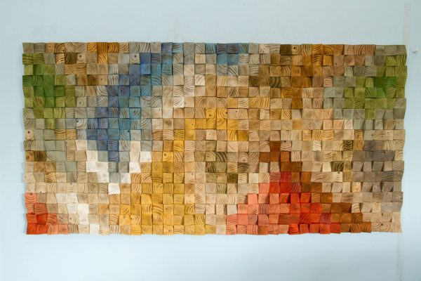 Large Wood Wall Art, SALE, 2017 colour trends, geometric art