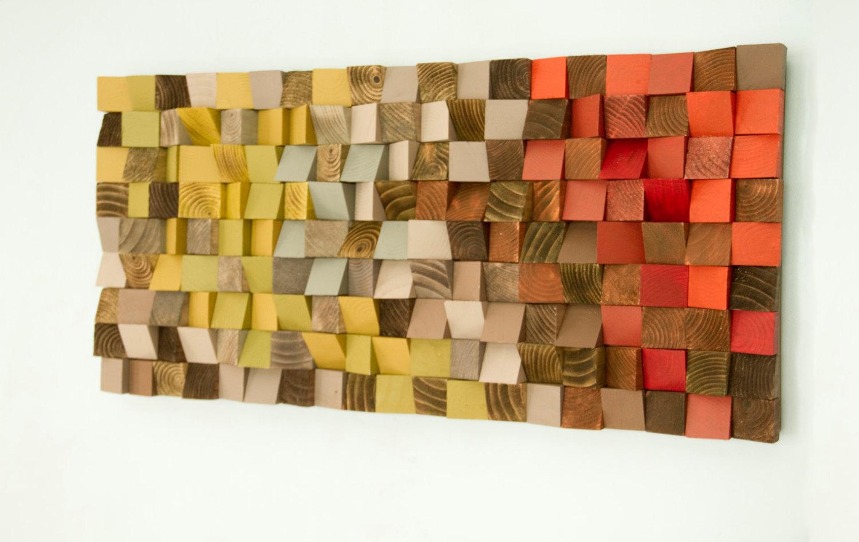 Reclaimed Wood Wall Art Reclaimed Wood Art Wood Wall Art Industrial Decor Fire Sparks
