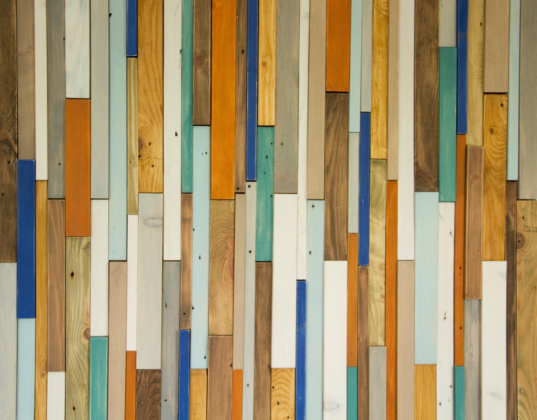 Reclaimed Wood Wall Art Industrial Wall Art Rustic Wood
