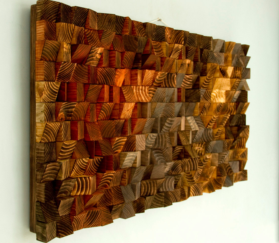 Easy Diy Projects For Home Decor Rustic Wood Wall Art Wood Wall Sculpture Abstract Wood