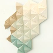 Wood Wall geometric art, mid century art, unique wood art by Kasia Mc Art