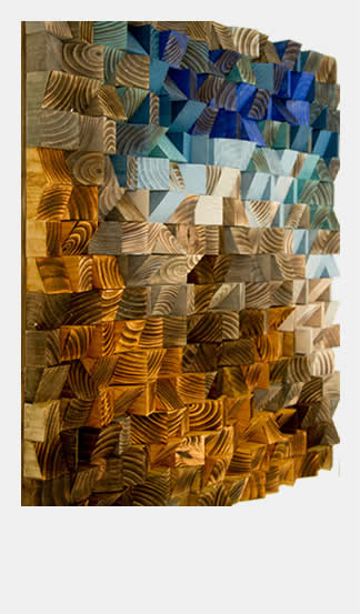 Art Glamour Wood Wall Art Designer Furniture