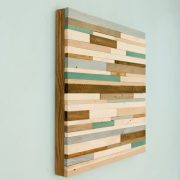 Industrial Wall Art Rustic Wood Art reclaimed wood wall sculpture,