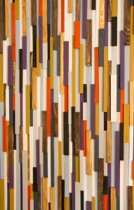 Large Wood Wall Art, custom wood art decor, reclaimed wood headboard