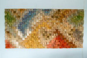 Large Wood Wall Art, SALE, 2017 colour trends, geometric art
