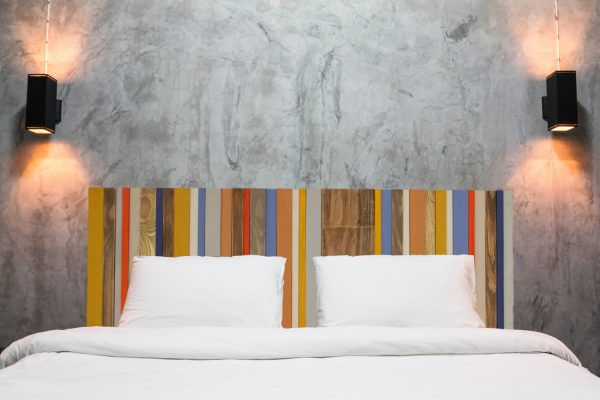 Mid-century Headboard Reclaimed Wood Furniture, custom sizes