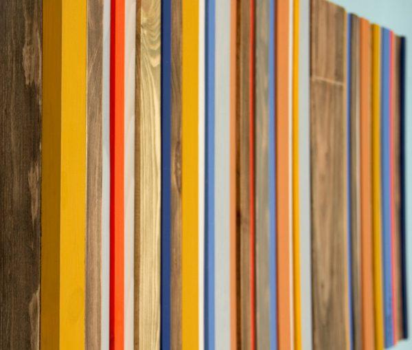 Mid-century Headboard Reclaimed Wood Furniture, custom sizes