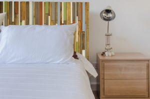 "Modern Headboard Wood Wall Art Sculpture, earth tones, green, blue, copper, 30"" x 72"""