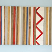 Reclaimed Wood Art - Scandinavian Style Wall Decor, Nordic decor