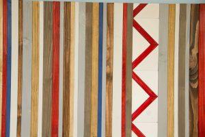 Reclaimed Wood Art - Scandinavian Style Wall Decor, Nordic decor
