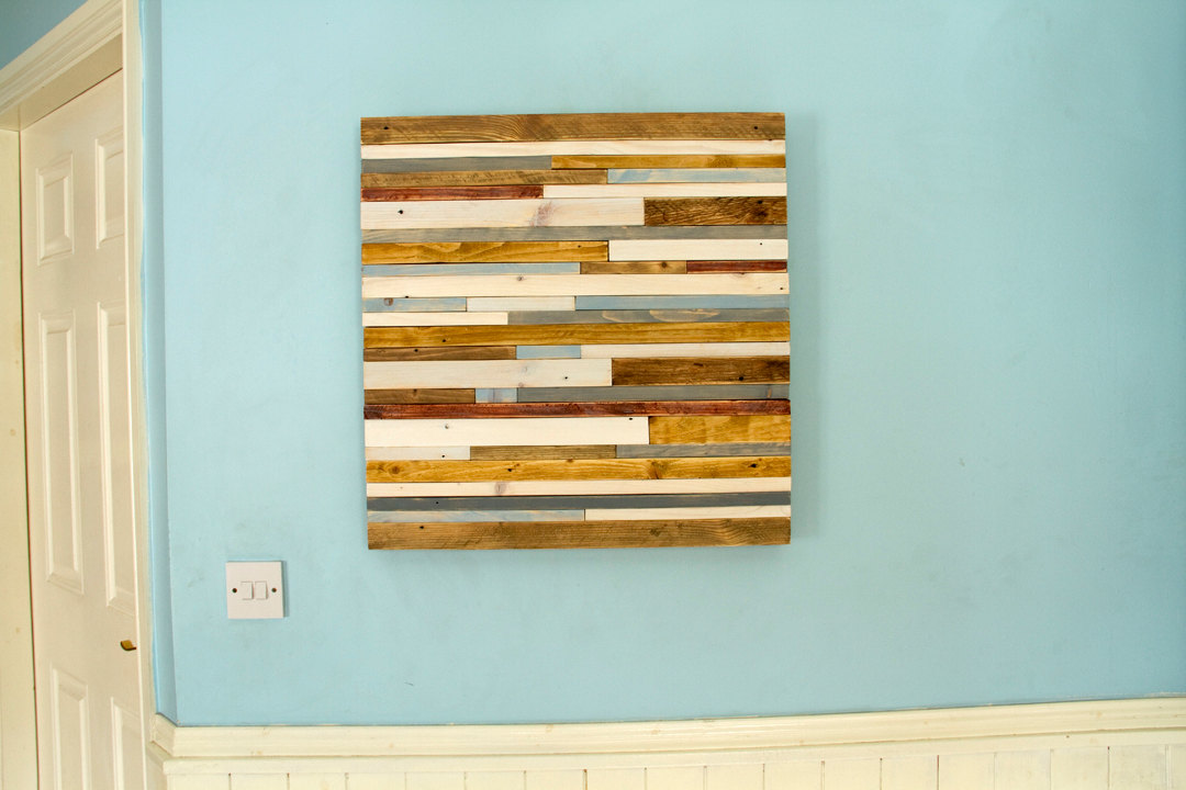 "Reclaimed Wood wall Art, Industrial wall Art reclaimed wood sculpture 24""x 24"""