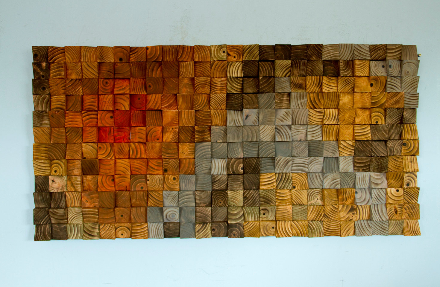 ... Rustic Wood Wall Art, Wood Wall Sculpture, Abstract Wood Art ...