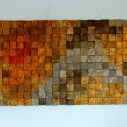 Rustic Wood wall Art, wood wall sculpture, abstract wood art