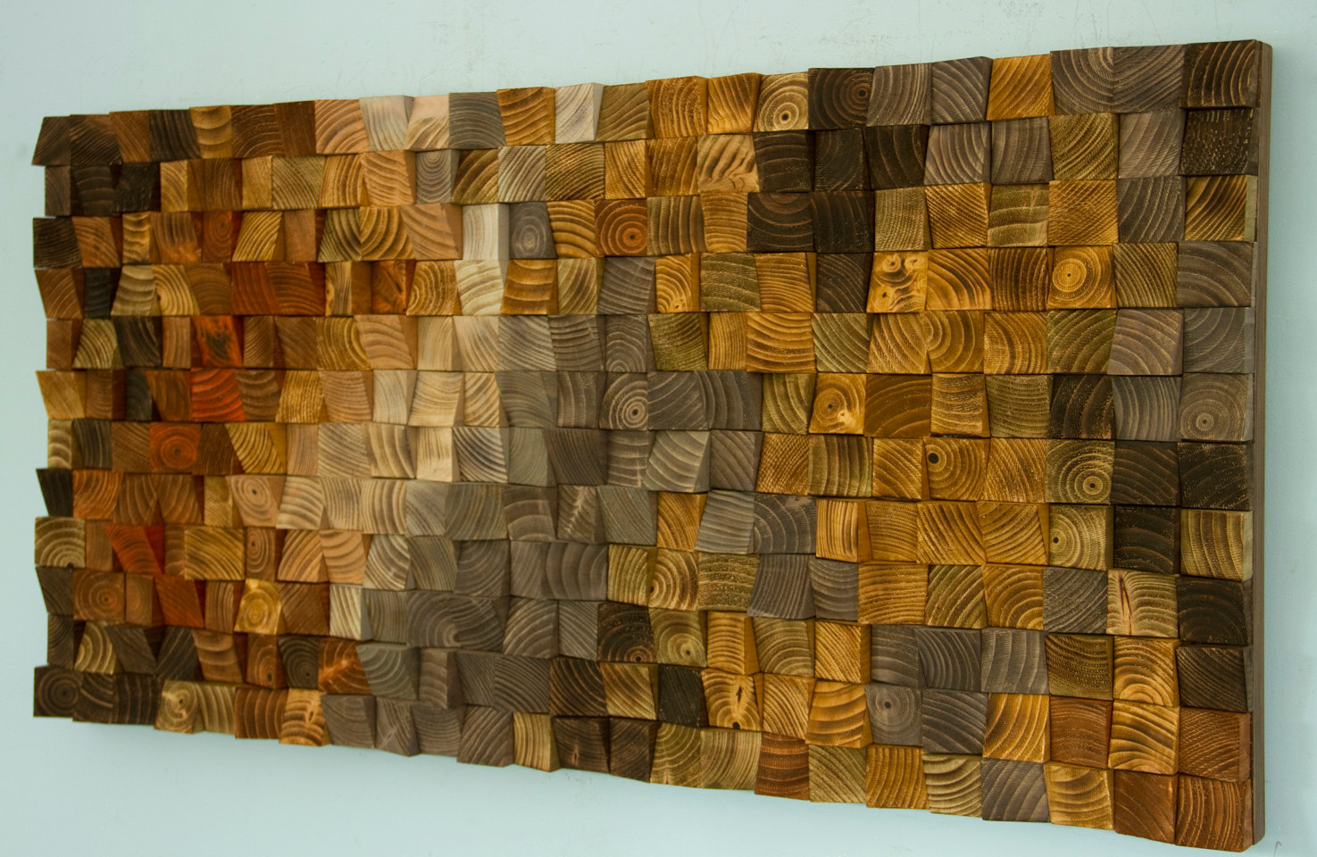 Rustic wood wall art wood wall sculpture abstract wood - Images of wall decoratio ...