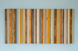 """Wood Wall Art, Modern wood decor, reclaimed wood sculpture, 20"""" x 40"""""""