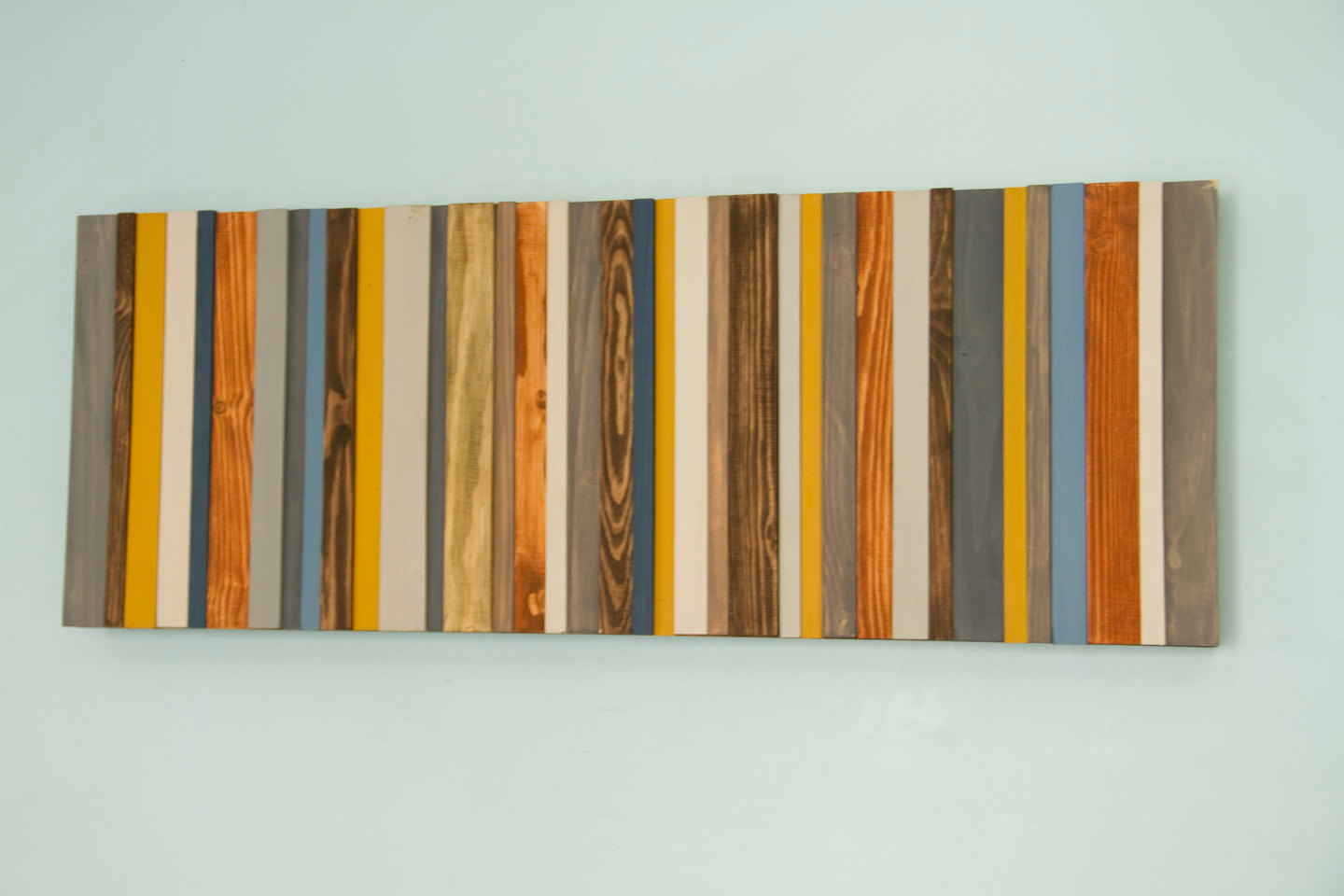 Wood wall art modern wood decor reclaimed wood sculpture for Contemporary decorative accessories