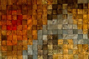 Wood wall Art, wood sculpture mosaic, geometric art